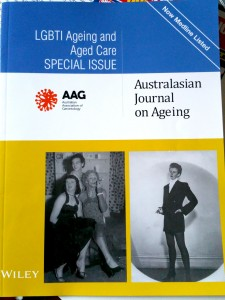 Picture of AAG LGBTI ageing and aged care journal