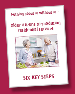 Older citizens co-producing residential services