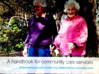 Nothing about Me without Me - Implementing Wellness and Consumer Directed Support with Older People